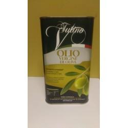 Olio Vergine di oliva 5 Lt 100% italiano Estratto a Freddo